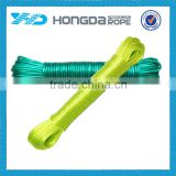 PVC outdoor clothes line , PVC cover and polyester core clothes line,retractable clothes line