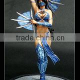 Mortal Kombat movie/cartoon comic character Kitana resin figurine/ statue