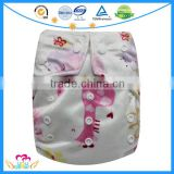 New Pattern Baby Cloth Diapers AIO Pocket Nappies Baby Washable