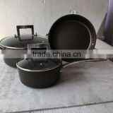 aluminum non-stick coating kitchenware set with lid