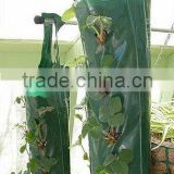 Garden Durable PE Woven Hanging Planting Grow Bags With 8 Planting Slits