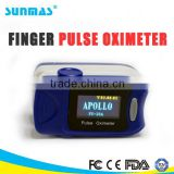 Sunmas hot Medical testing equipment DS-FS20A nellcor finger pulse oximeter sensor