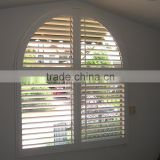 Wholesale cheap china blinds factory direct custom pvc security outdoor window venetian plantation shutters san diego