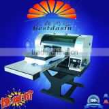 420*920mm print size flat bed inkjet t shirt printing machine, inkjet t shirt printer for sale