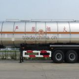 Tri Axle Stainless Utility Steel Oil Tank Semi Trailer Qixing Brand
