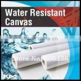 410gsm Cotton and poly waterproof white canvas,waterbase ink