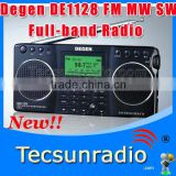 Wholesale Degen DE1128 FM MW SW Full-band SD card E-book reading Radio New Product de1128