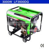 2800W rated power portable diesel generator LF3500DG                                                                         Quality Choice