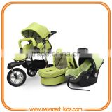 3 in 1 travel system stroller baby stroller buggy pram baby jogger pushchair EN1888:2012 AS/NZS2088 ASTM certificate