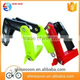 PVC and silicone security bicycle folding lock for bike
