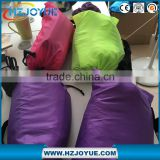 Fast filling drop bean shape waterproof Inflatable lazy sofa /bed/Hangout waterproof sleeping bag