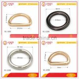Zinc alloy hardware fitting D ring,O ring high end                                                                         Quality Choice