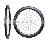New Arrival Carbon Aero Road Bike 60C Clincher Wheelset 60mm Clincher Clincher 60mm Stiffness Road Racing Carbon Bicycle Wheels