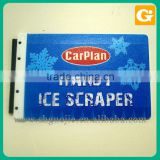 Printing Snow on Plastic Sign Board