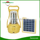2 Year Warranty High Efficiency Emergency Led Camping Solar Panel Light                                                                         Quality Choice