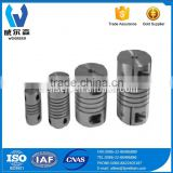 High Quality And Low Price PX/PXJ Flexible Motor Coupler Beam Parallel slits shaft coupling
