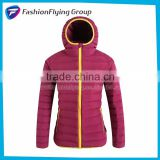 CWL5108 Hot Sell Fashion Ultra-Light Women Winter Jacket