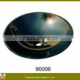 Hi-quality beautiful black marble wash basin for bathroom