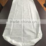 spunlace nonwoven waterproof disposable protective hospital bed cover with elastic band all around mattress