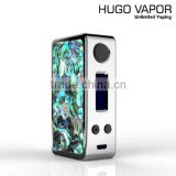 2016 Most Popular high quality HoneyHive 80W tc mod with abalone shell vape mod in stock