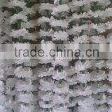 White Artificial Marigold Flower Garland for Decoration White Marigold