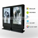 Stand Alone 4k 2000 nits LCD Advertising Digital Signage 84 inch Video Display