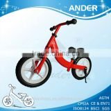 2015 ALU frame kids run bike / running bicycle / EU standard bike toy / EN71 kids scooter