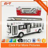 1/50 collection models pull back diecast car london bus with music