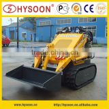 Mini rubber tired track skid steer for sale