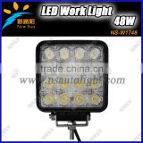 Newest 48W C REE LED Work Light Bar 16*3W Equipment Vehicle Truck 4WD Boat Farming Driving Lamp CE ROHS IP67 Working light