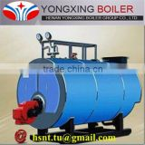 4.2MW/hr-1.0MPa horizontal auto feed dual fuel hot water boiler