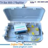 Outdoor Fiber Optic Terminal Box,Distribution Box,splitter box;FTTH Box WIth 1*8 Splitter