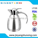 Unique design SXP065 18/8 stainless steel vacuum flask 1.5L