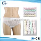Newest style hospital disposable panties for hospital spa
