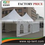 5x10m outdoor transparent pvc wall exhibition tent with pvc window for commercial activity