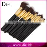 New Arrival 12pcs Makeup Brushes Set Rose Gold Make Up Brushes Soft Animal or Nylon Hair For Beauty