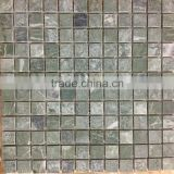 Taurus Green Turkey Mosaic 2,3 X 2,3 Mosaic Tiles Turkish Mosaics For Interior Walls Marble Mosaics Travertine Tiles Emperador