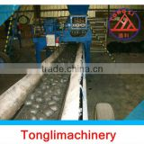 small charocal ball briquette machine/coal/charcoal powder press ball machine made in Tongli machinery