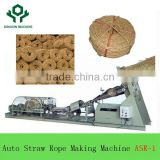 2017 Easy Installation & Operation Product Full Automatic Grass/Rice/Wheat/Corn stalk Straw Rope Making Machine