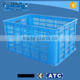 Customized plastic laundry basket, plastic supermarket basket, plastic market basket wholesale