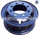 7.50v-20 Truck Rim 8 Bolt Steel Tube Truck Wheel