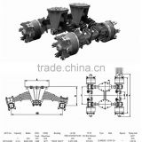 Trailer Parts trailer drum type bogie suspension from China