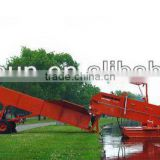 Aquatic weed harvester/QG-B10 Aquatic weed Transport Barge/Trailer Conveyor/Shore Conveyor