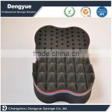 Double Sided Wave Shape small big holes Hair Twists Sponge with different types