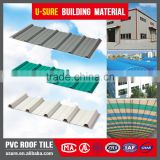 Heat resistant color flexible corrugated pvc plastic sheet