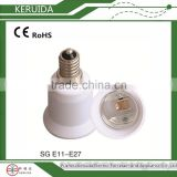 Manufacturer! plastic E11-E27 lamp holder adapter converter/ bakelite LED light bulb holder base socket