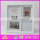 2015 New product wooden photo frame wholesale,wooden toy photo picture frame,hot selling wooden love photo frame W09A011