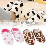 Promotion Home Slippers Shoes Spring & Autumn And Winter Warm Women Men Warm Lovers Cute Soft Indoor Shoes Hot Selling