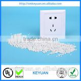 Nylon 66 plastic raw material, PA66 resin pellets, pa66 gf30 plastic granules made in China