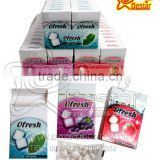 Different Flavor Sugar Free&Chewing Gum with Xylitol Chewing Gum